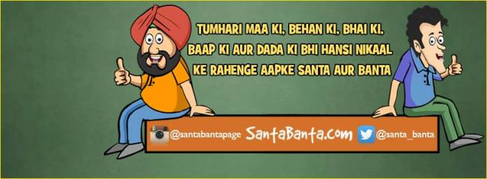 Santa-Banta: Could they die?